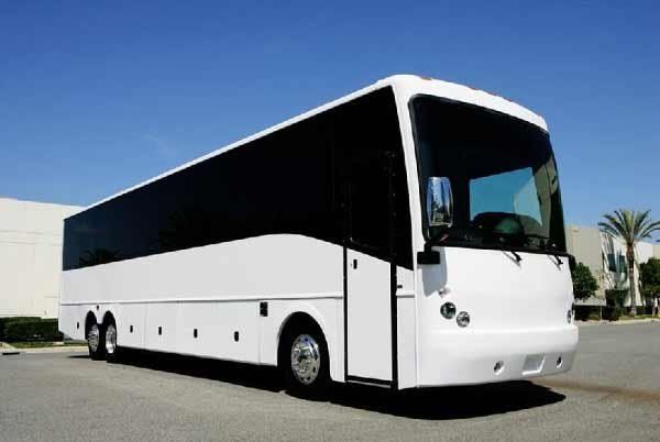 40 Passenger party bus Blodgett Mills
