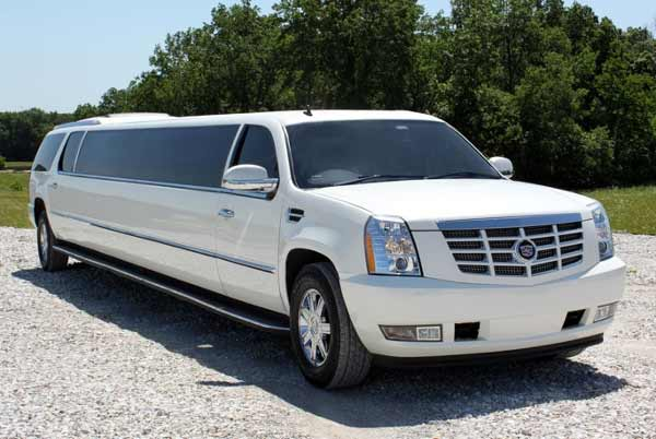 Cadillac Escalade Limo Lake Mohegan