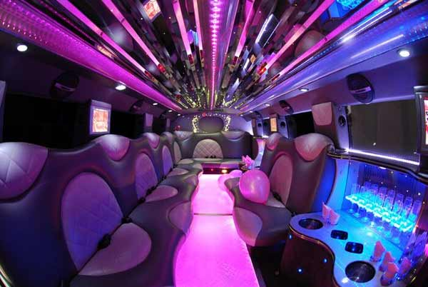 Cadillac Escalade limo rental Hunter