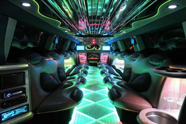 Hummer limo rental Hillside Lake