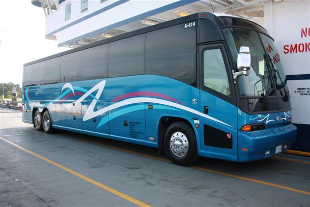 charter bus new york
