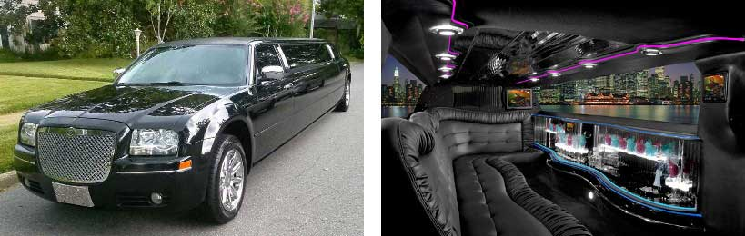 chrysler limo rental Jamestown