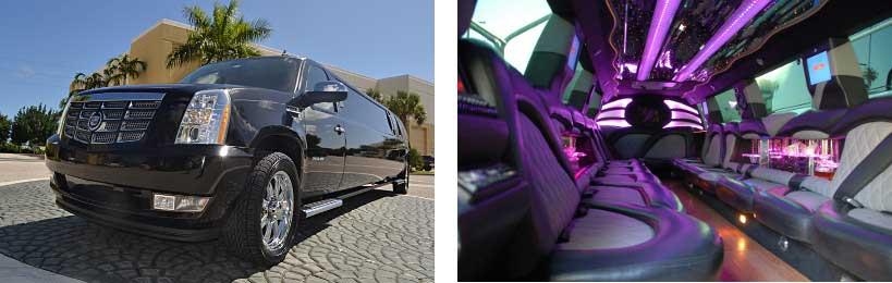 escalade limo service Ithica