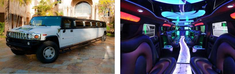 hummer limo service Jamestown