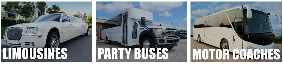 party bus limo service Jamestown