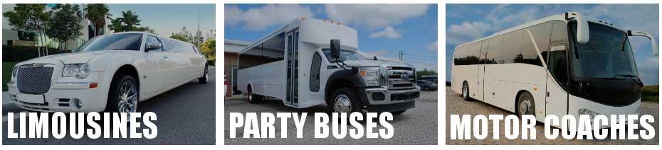 party bus limo service North Tonawanda