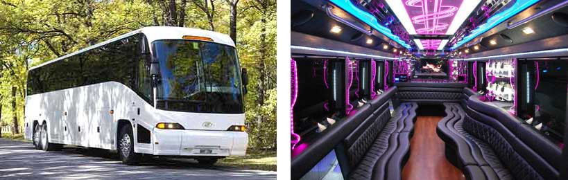 party bus rental Jamestown