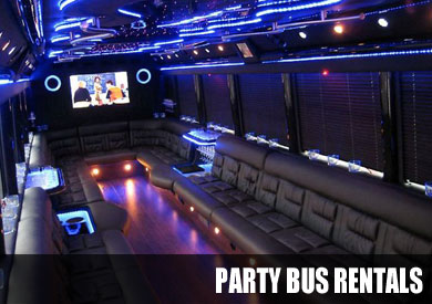party bus rental Huntington Bay
