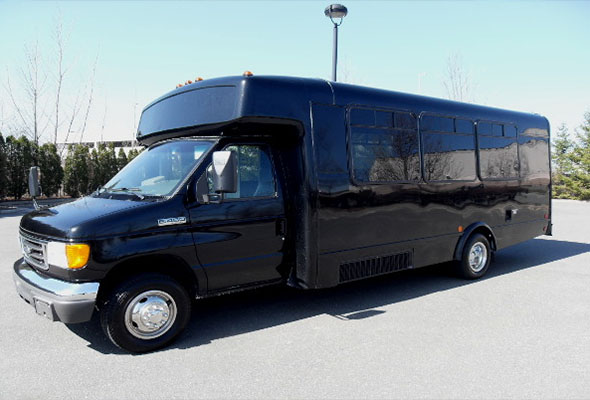 18 Passenger Party Buses Hall