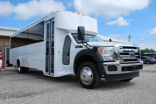 22 Passenger Party Bus Rental Livonia Center New York